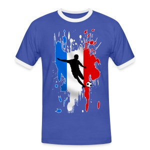 Football France - Men's Ringer Shirt