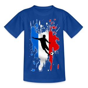 Football France - Teenage T-shirt