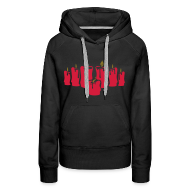 Hoodies & Sweatshirts ~ Women's Premium Hoodie ~ I Seek the Name (Slim-fit Hoodie)