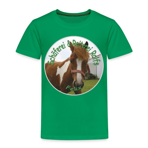Pony-T-Shirt Felix - Kinder Premium T-Shirt