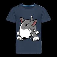 Shirts ~ Kids' Premium T-Shirt ~ Play Time Bull Terrier