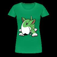 T-Shirts ~ Women's Premium T-Shirt ~ Play Time Bull Terrier