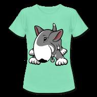 T-Shirts ~ Women's T-Shirt ~ Play Time Bull Terrier