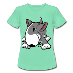 Play Time Bull Terrier Grey - Women's T-Shirt