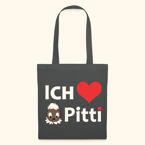 Stoffbeutel Ich liebe Pitti - Stoffbeutel