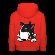 Hoodies ~ Kids' Premium Hoodie ~ Play Time Bull Terrier