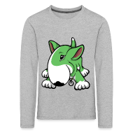 Long Sleeve Shirts ~ Kids' Premium Longsleeve Shirt ~ Play Time Bull Terrier