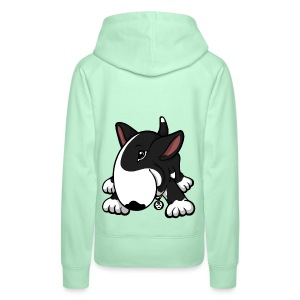 Play Time Bull Terrier Black - Women's Premium Hoodie