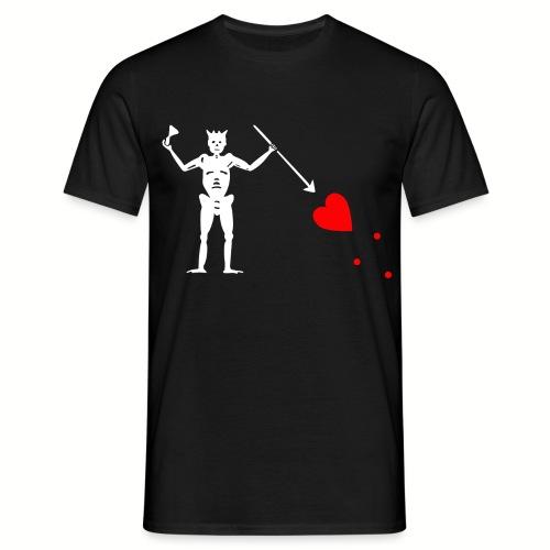 Tee shirt Homme Edward Teach - Barbe noire - T-shirt Homme