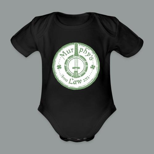 Baby-body med korta ärmar. - Ekologisk kortärmad babybody