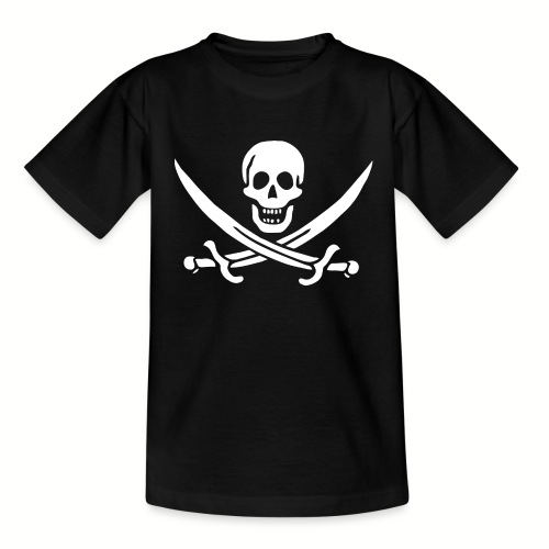 Tee shirt Ado Jack Rackham Flag - T-shirt Ado