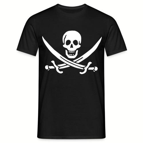 Tee shirt Homme Jack Rackham Flag - T-shirt Homme