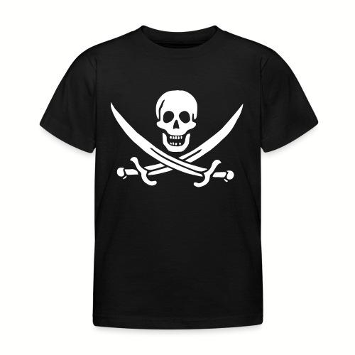 Tee shirt Enfant Jack Rackham Flag - T-shirt Enfant