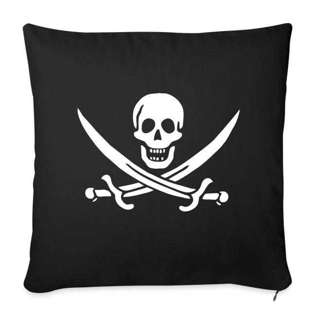 """Housse de coussin """"Jack Rackham Flag"""""""