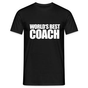World's Best Coach - Men's T-Shirt