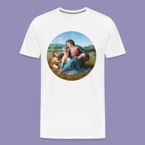 Raphael - The Alba Madonna - Men's Premium T-Shirt