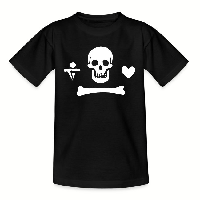"Tee shirt Ado ""Stede Bonnet Flag"""