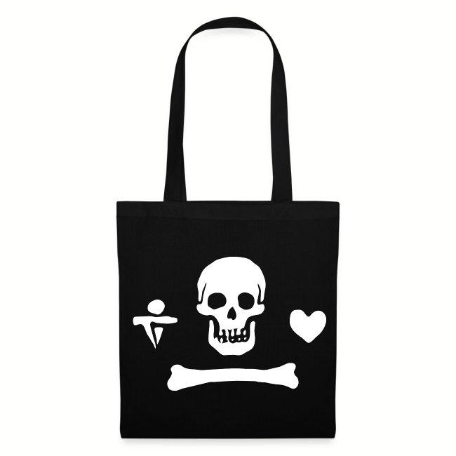 """Tote Bag """"Stede Bonnet Flag"""""""