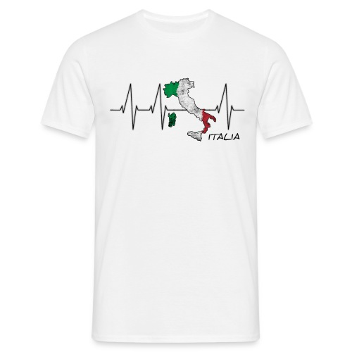 Heartbeazz Italia - Männer T-Shirt