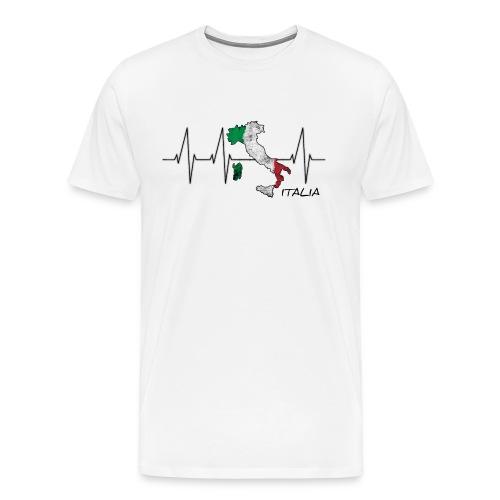 Heartbeazz Italia - Männer Premium T-Shirt