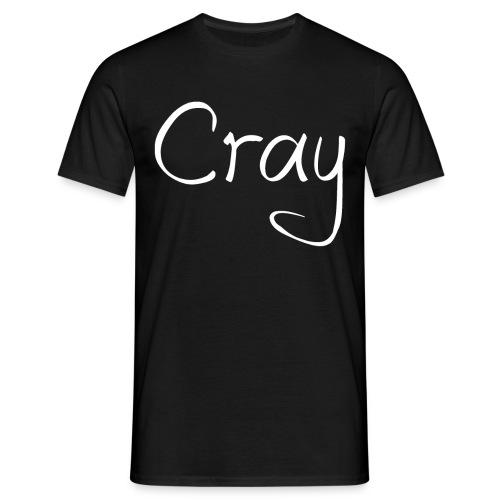 Cray Schwarzes TShirt über 14 jahre grössen - Männer T-Shirt