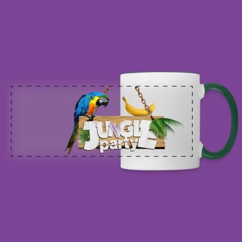 Mug JUNGLE PARTY - Mug panoramique contrasté et blanc