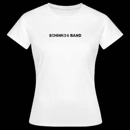 Damen T-Shirt - Logo Schwarz - Frauen T-Shirt