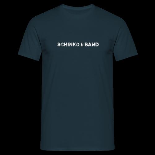 Herren T-Shirt - Logo, Weiß - Männer T-Shirt