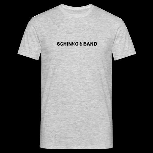 Herren T-Shirt - Logo, Schwarz - Männer T-Shirt