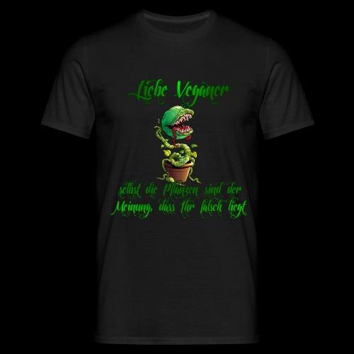 WK Antisocial Männer T-Shirt Veganer - Männer T-Shirt