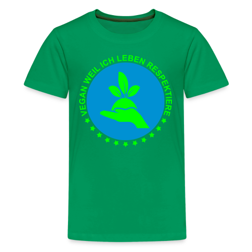 VEGAN - Teen - Teenager Premium T-Shirt