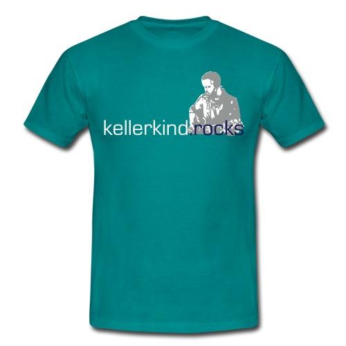Shirt, Motiv 3-farbig - Männer T-Shirt