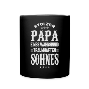 Stolzer Papa - Tasse einfarbig