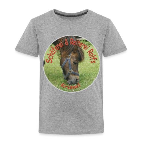 Pony-T-Shirt Krümel - Kinder Premium T-Shirt