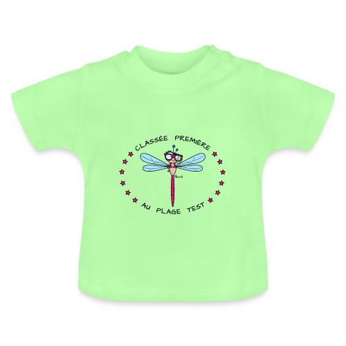 T-shirt Bébé Libellule Plage Test, Bikini & Lunettes  - T-shirt Bébé