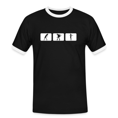 Slim T-Shirt Men - Männer Kontrast-T-Shirt