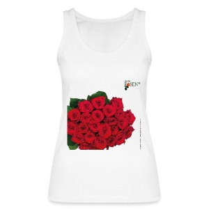 Rote Rosen - Tank Top - Frauen Bio Tank Top