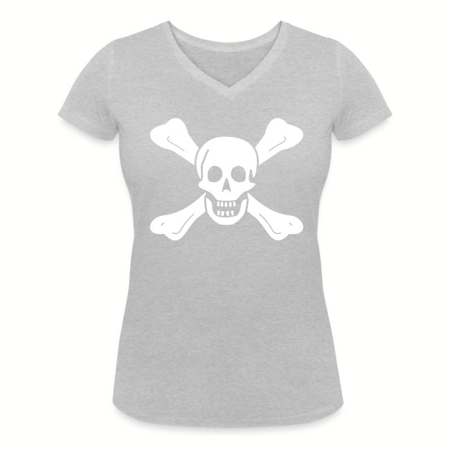 "Tee shirt col V Femme ""Richard Worley Flag"""