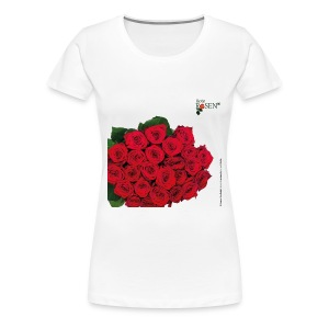 Rote Rosen - T-Shirt  - Frauen Premium T-Shirt