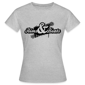 T-Shirt Women Rims & Beats Logo 2016 - Frauen T-Shirt