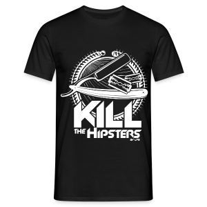 Kill the hipsters by LPB - T-shirt Homme