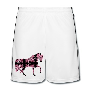 Horse Kaleidoscope Design 6 - Men's Football shorts