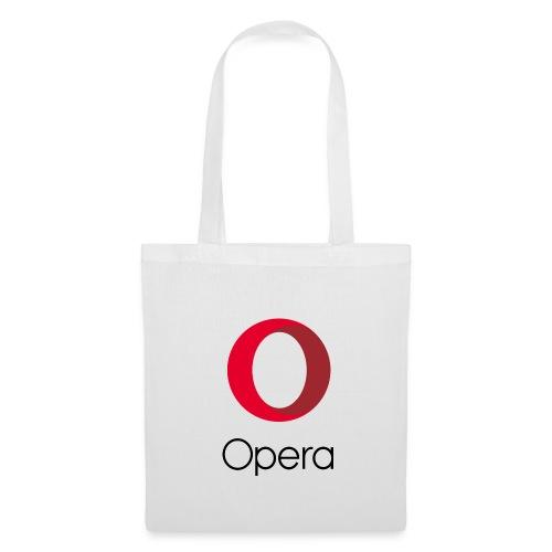 Opera tote bag white - Tote Bag