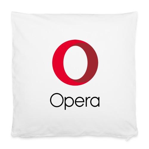 Opera pillowcase white - Pillowcase 40 x 40 cm
