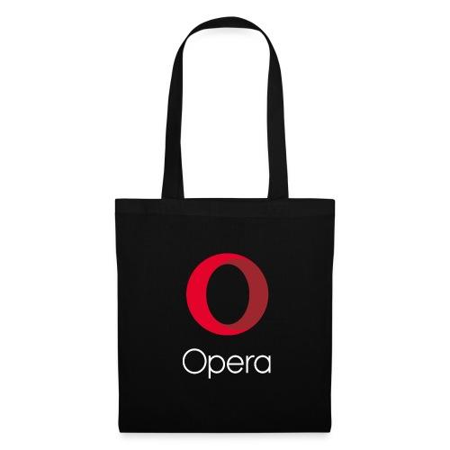 Opera tote bag black - Tote Bag