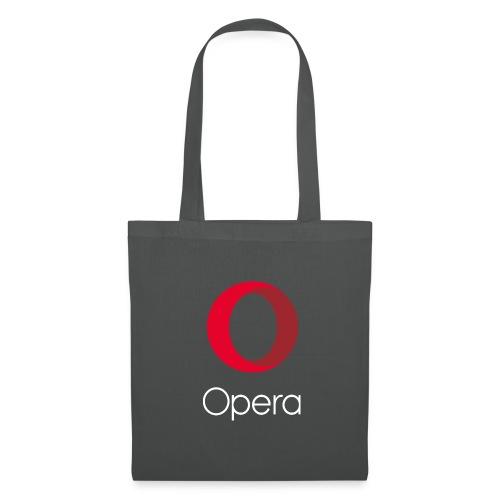 Opera tote bag grey - Tote Bag