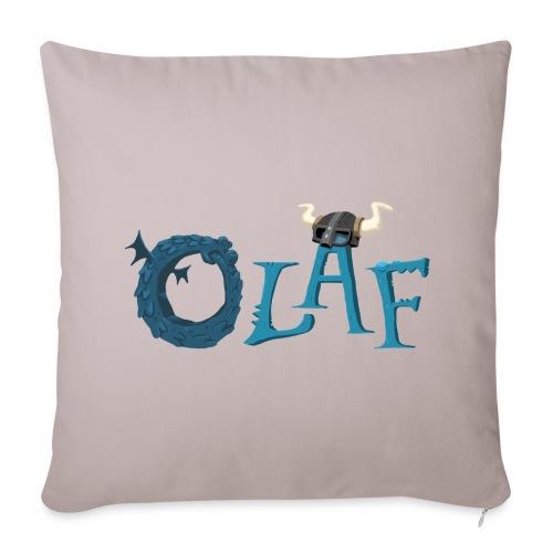 Olaf sofa pillow cover grey - Sofa pillow cover 44 x 44 cm