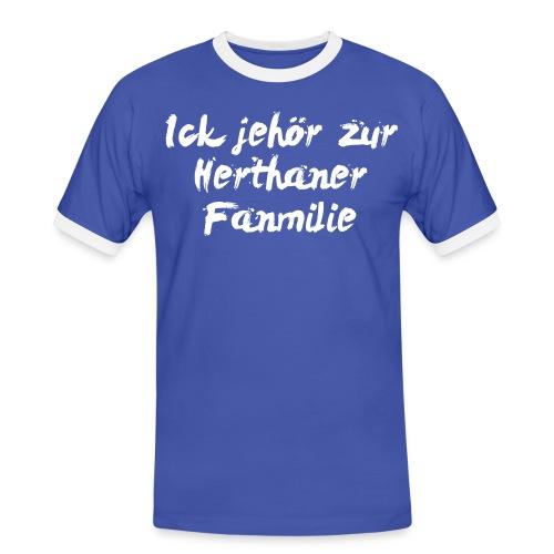 Hertha BSC Shirt - Männer Kontrast-T-Shirt