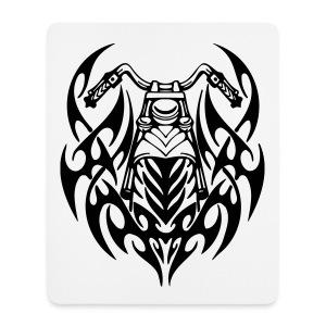 Moto Tribal - Alfombrilla de ratón (vertical)