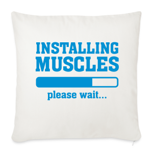 Install muscles pillow - Sofa pillow cover 44 x 44 cm